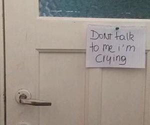 sad, door, and grunge image