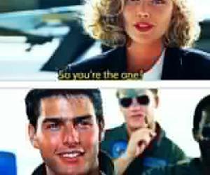 charlie, maverick, and Tom Cruise image
