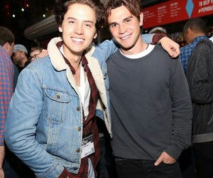 cole sprouse, riverdale, and friends image