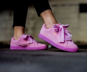 pink and puma image