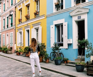 city, colorful, and fashion image