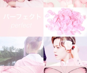 aesthetic, kpop, and pink image