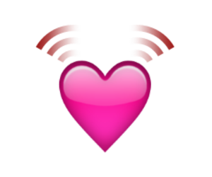 heart, pink, and ios image
