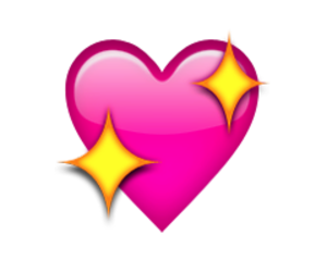 heart and emoji image