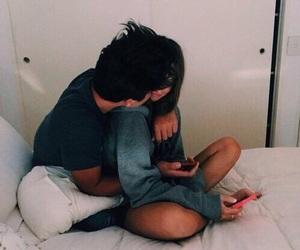 couple, kiss, and couples image