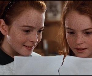 twins, lindsay lohan, and movie image