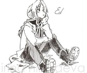 edward elric, alchemist, and draw image