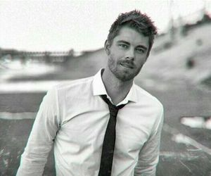 black and white, luke mitchell, and agents of shield image