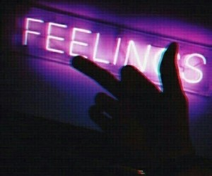 feelings, quotes, and night image