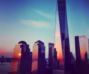 building, manhattan, and newyork image