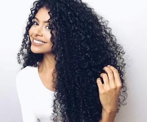 curly, hair, and rizos image