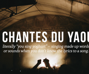 french, sayings, and singing image