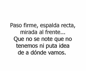 frases, paso firme, and citas image