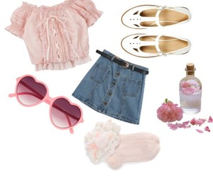 fashion, nymphet, and Polyvore image