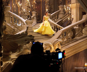 behind the scenes, the beauty and the beast, and belle image