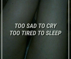 body, quotes, and sadness image
