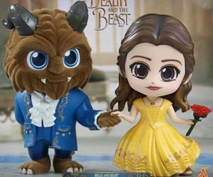 beauty and the beast, collection, and toy image