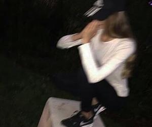 adidas, tumblr, and dark image