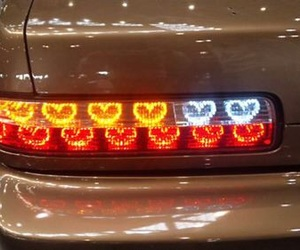 car, grunge, and light image