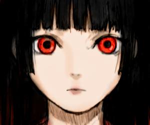 jigoku shoujo, anime, and hell girl image