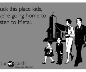 fuck, metal, and songs image
