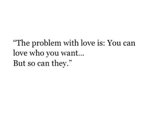 quotes, love, and problem image