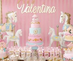decoration, unicorns, and baby party image