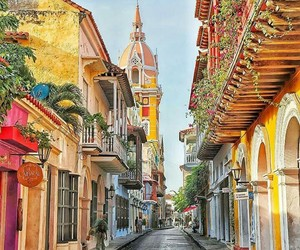 places, colombia, and travel image