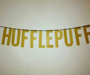harry potter, hufflepuff, and yellow image