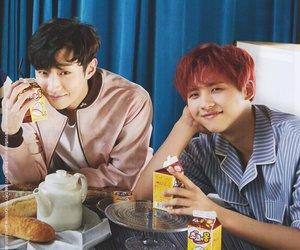 magazine, jinyoung, and cnu image