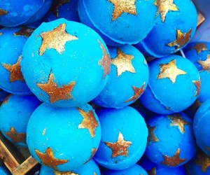 blue, lush, and stars image