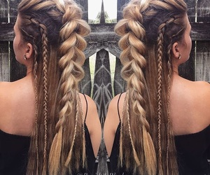 braids and hair style image