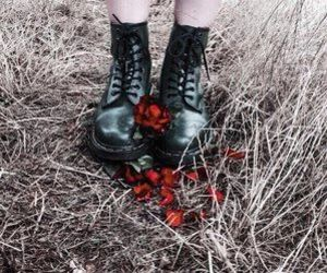 boots, alternative, and dark image