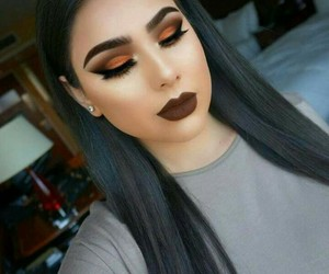 makeup, lips, and make image