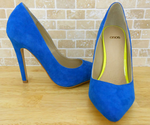 beautiful, suede, and blue image
