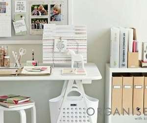 bedroom, desk, and room image