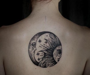 goals, inked, and moon image