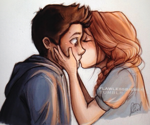 teen wolf, kiss, and stydia image