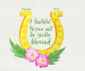 bible, blessing, and faith image