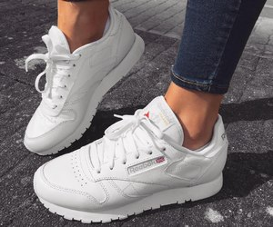 shoes, fashion, and reebok image