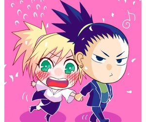 chibi, naruto, and temari image