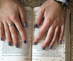 blue, nails, and whales image