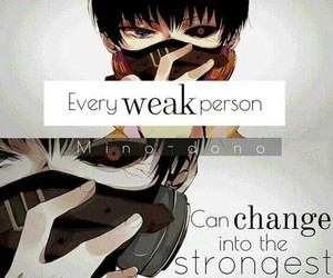 anime, tokyo ghoul, and anime quote image