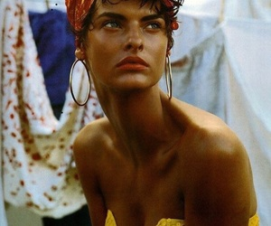 model, beauty, and linda evangelista image