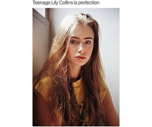 beauty, teenage, and lilycollins image