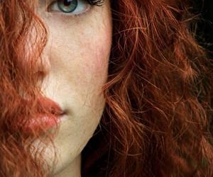 girl, hair, and eyes image