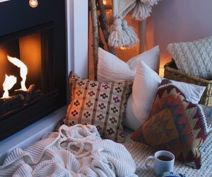 coffee, cozy, and cold image