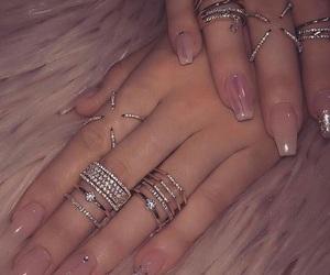 soft pink nails, natural nails design, and transparency nails art image