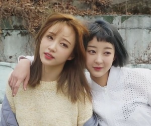 exid, hani, and hyelin image