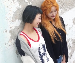 junghwa, exid, and hyelin image